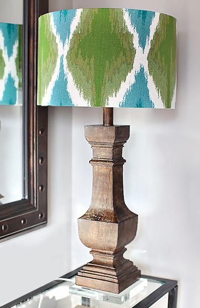 Upcycled DIY Fabric Lampshade