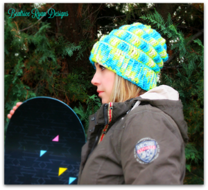 Snowboarders Slouchy Hat