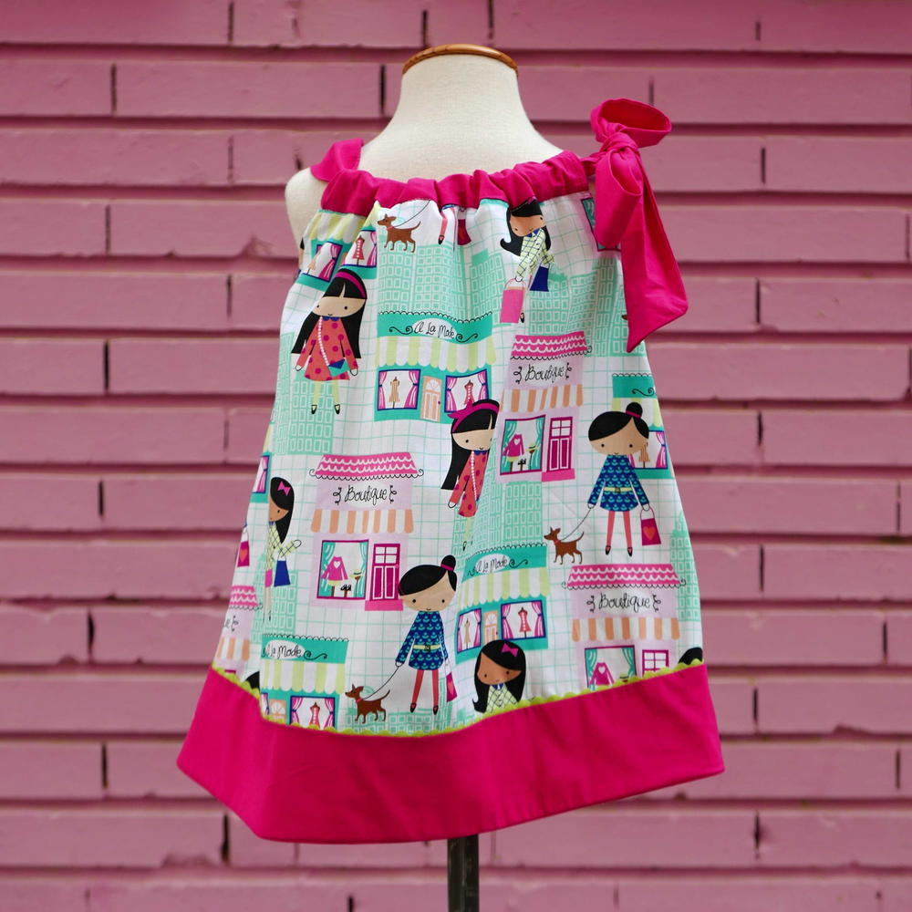 Girls Pillowcase Dress Pdf Pattern 1 6 Yrs Allfreesewing