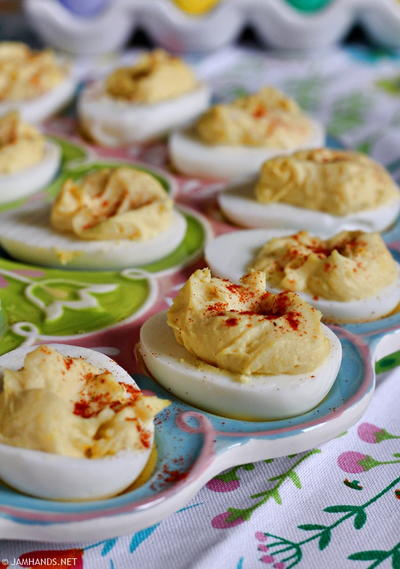 Moms Classic Southern Deviled Eggs