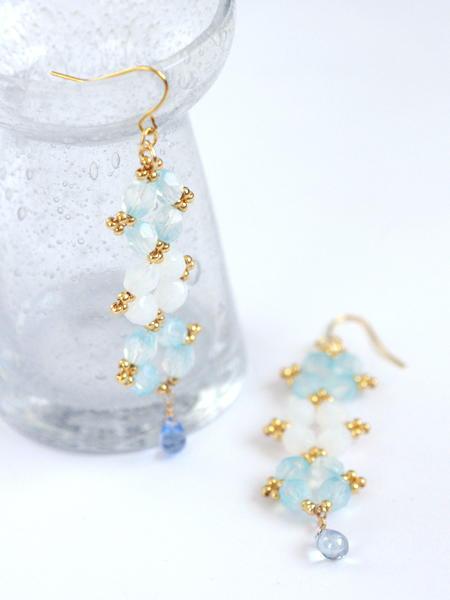 Gorgeous Goddess Earrings | AllFreeJewelryMaking.com