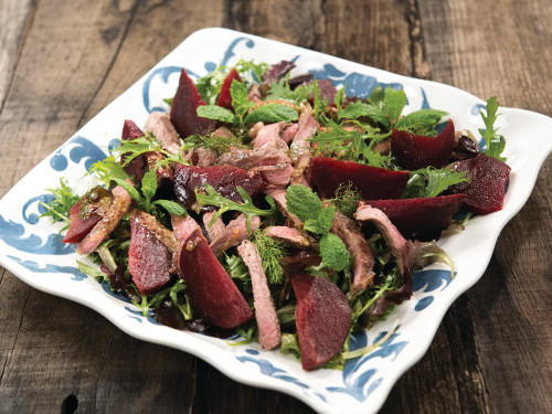 28 traditional irish recipes irish food for st patricks day seared lamb and beetroot salad forumfinder Choice Image