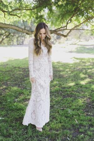 Anniversary Lace Maxi Dress