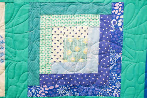 Log Cabin Block Pattern