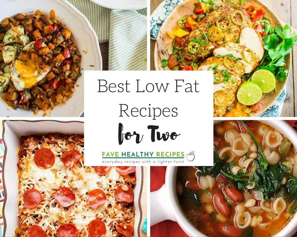 10 Best Low Fat Recipes For Two