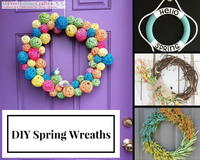 54 Creative DIY Spring Wreath Ideas