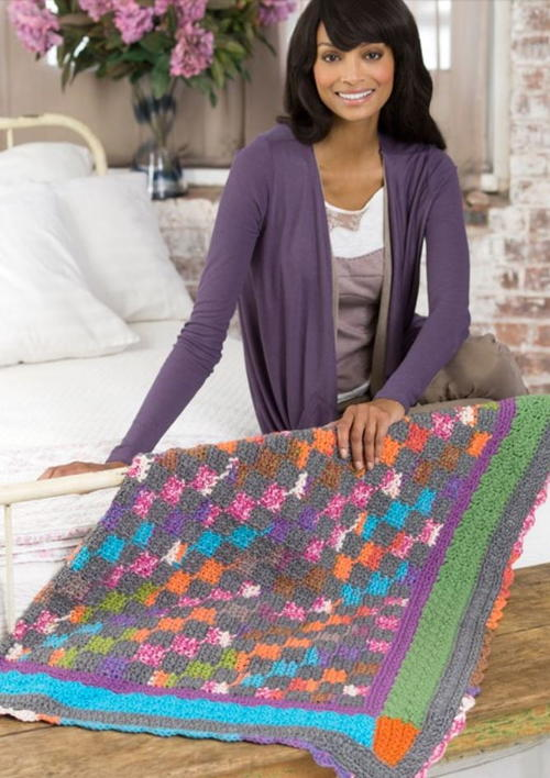 Amish Multicolor Throw