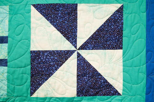 Half Square Triangle Block Pattern