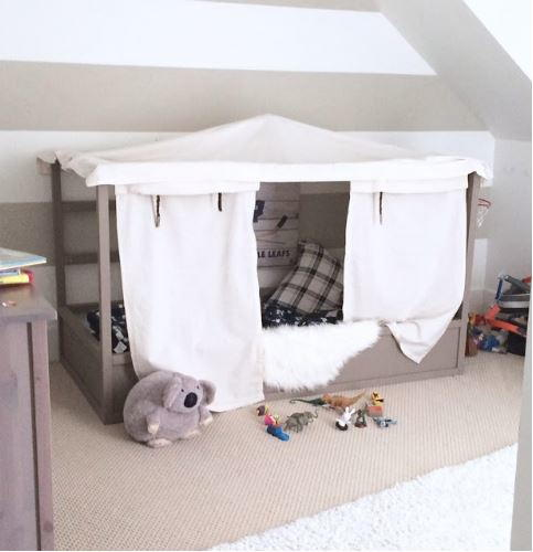 Amazing IKEA Bed Frame Hack