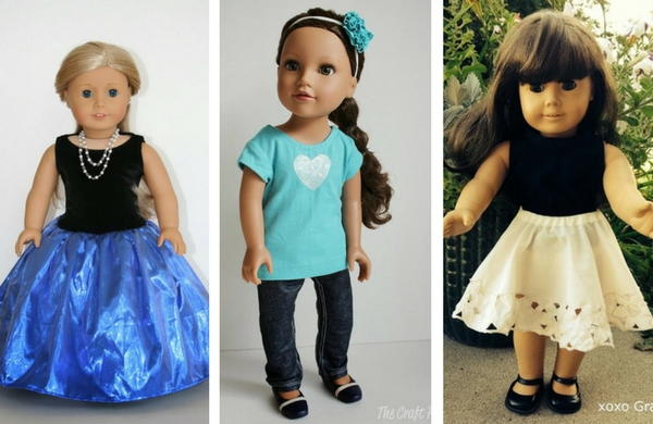 46 Free Doll Clothes Patterns And Diy Accessories Allfreesewing Com