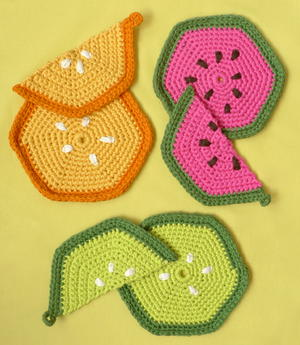 Fruity Trivets And Potholders