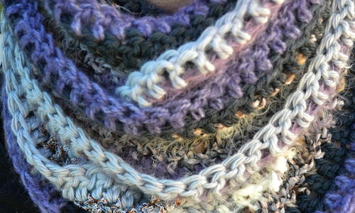 Easy Textured Infinity Scarf Crochet Pattern Allfreecrochet