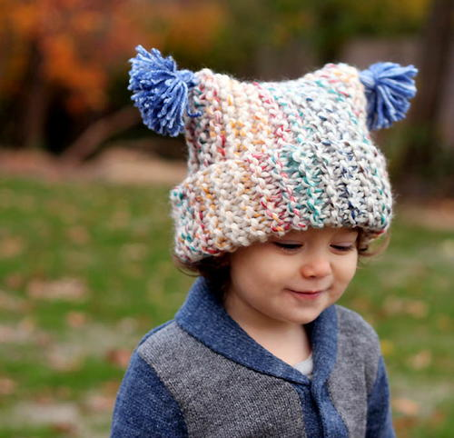 Hudson Bay Garter Stitch Hat
