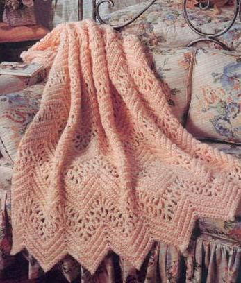 Victorian Lace Afghan Allfreecrochetafghanpatterns