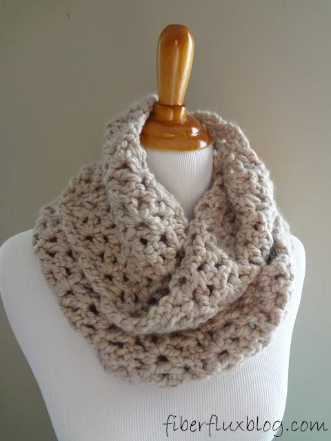 Classic Crochet Infinity Scarf AllFreeCrochet Magnificent Crochet Infinity Scarf Pattern In The Round