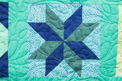Star Flower Block Pattern