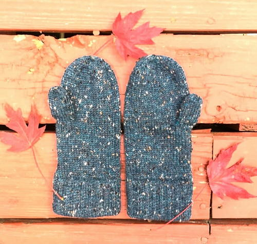 Classic Tweed Mittens