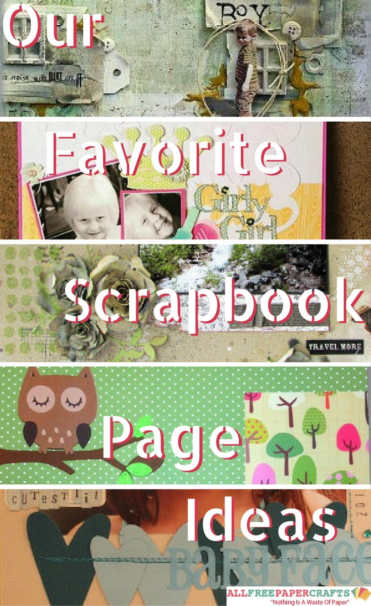 Our Favourite Tree Guide Trees Of The Carolinian Forest: Scrapbooking Layouts: 20+ Of Our Favorite Scrapbook Page