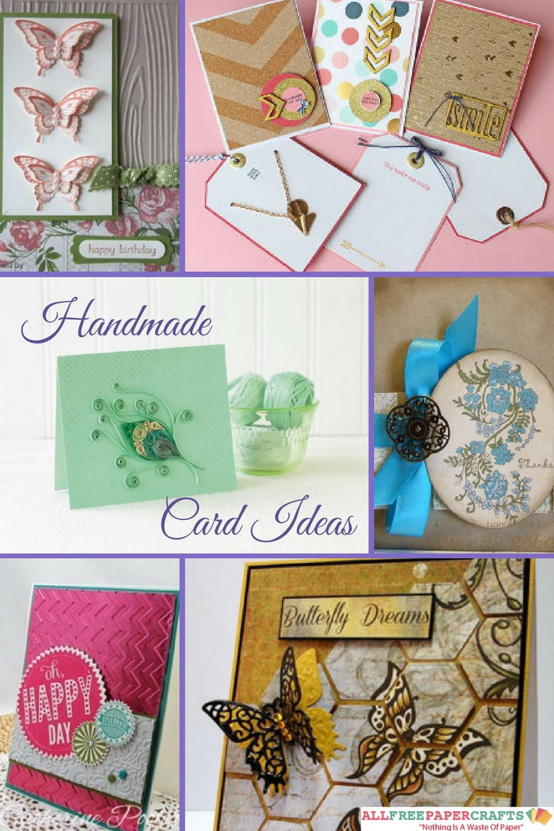 Card Making Ideas Wedding Part - 31: 45+ Handmade Card Ideas: How To Make Greeting Cards