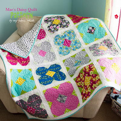 Mae's Daisy Lap Quilt Pattern