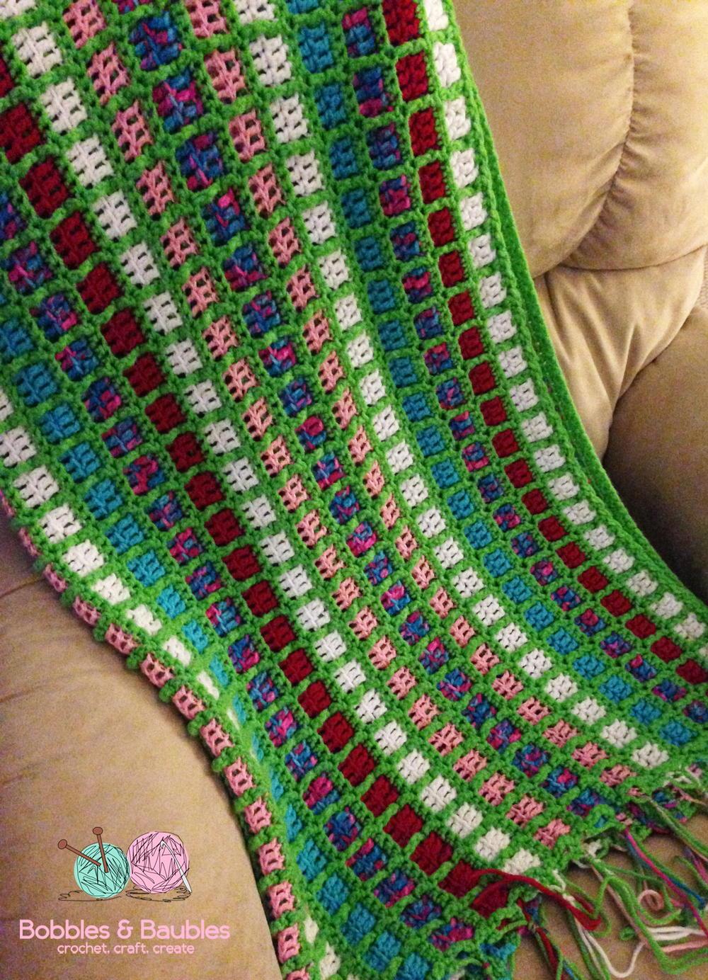 Mindless Crochet Scrapghan Allfreecrochet
