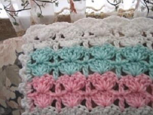 baby s first crochet baby blanket pattern favecrafts com