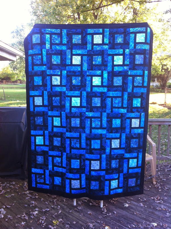 Blue Bayou Bed Quilt