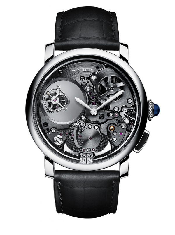 Minute Repeater Mysterious Double Tourbillon 9407 MC