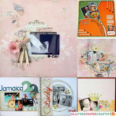 Scrapbooking Layouts: 20 of Our Favorite Scrapbook Page Ideas