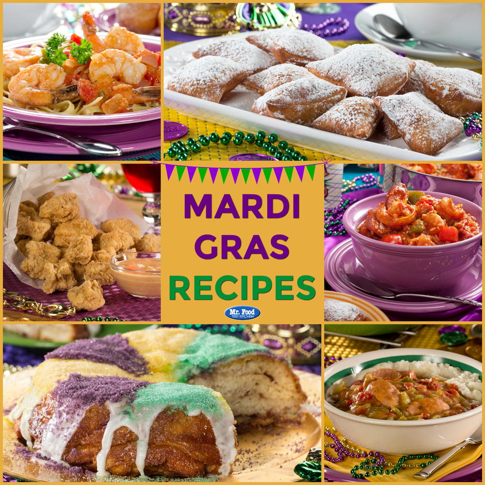 14 Quick Amp Easy Mardi Gras Recipes Mrfood Com