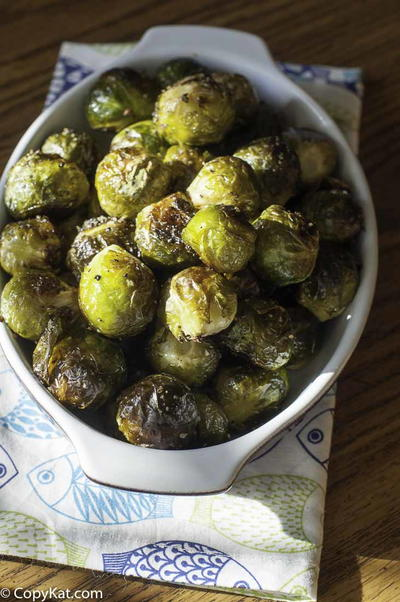 Copycat Red Lobster Roasted Brussel Sprouts Recipe