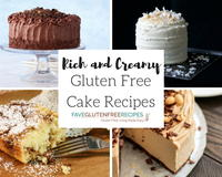 14 Rich and Creamy Gluten Free Cake Recipes