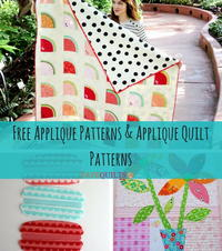 17 Free Applique Patterns & Applique Quilt Patterns