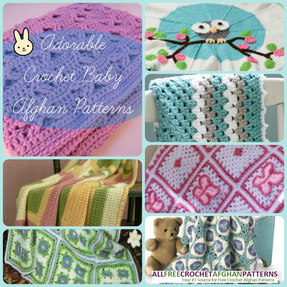 34 Adorable Crochet Baby Afghan Patterns ...