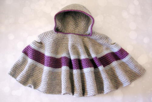 Car Seat Cloak AllFreeCrochet Gorgeous Car Seat Poncho Pattern