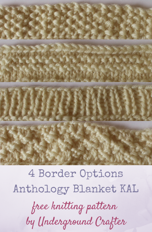 4 Blanket Border Options
