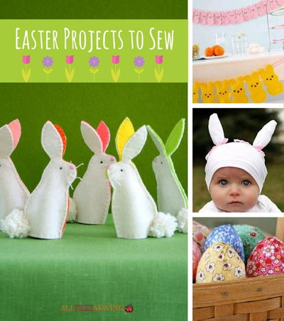 22 easter projects to sew allfreesewing easter projects to sew negle Images