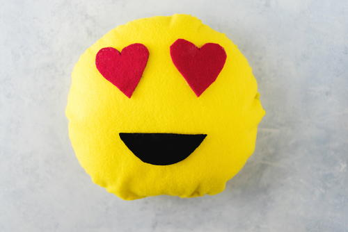 Decorative DIY Emoji Pillow