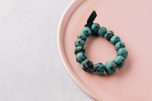 How to Make Faux Turquoise Beads