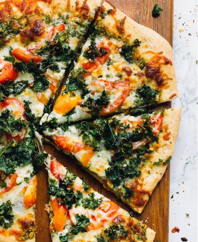 Kale Pesto Pizza Recipe