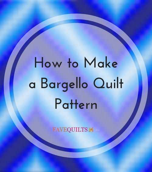 How to Make a Bargello Quilt Pattern