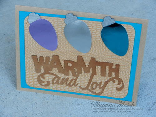 DIY Warmth and Joy Card
