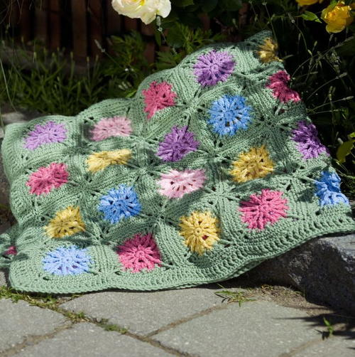 Flower Fields Throw