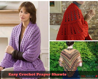 15 Prayer Shawl Patterns Allfreecrochet