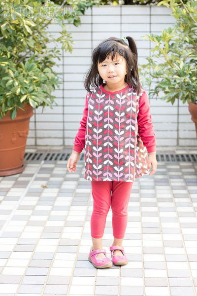 Girls' Gathered Tunic Dress Pattern