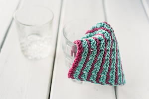Unbelievably Easy Knit Dishcloth Pattern