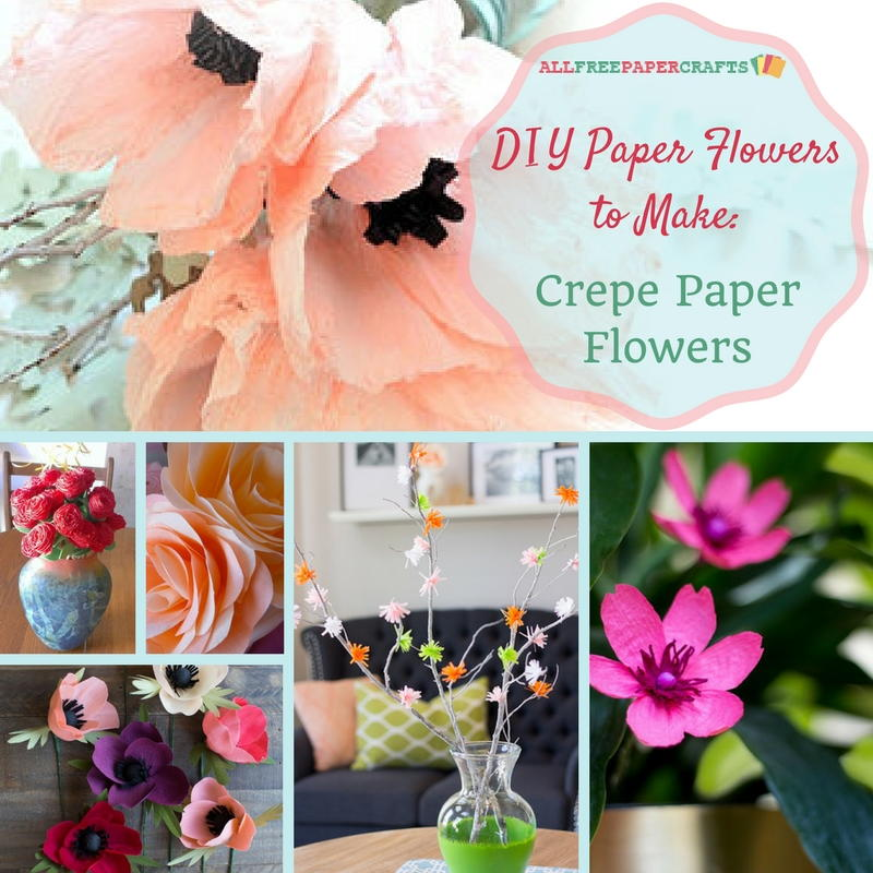 Mixed media paper sunflower allfreepapercrafts diy paper flowers to make 10 crepe paper flowers mightylinksfo