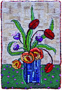 Rug Hooking in the Scottish Highlands