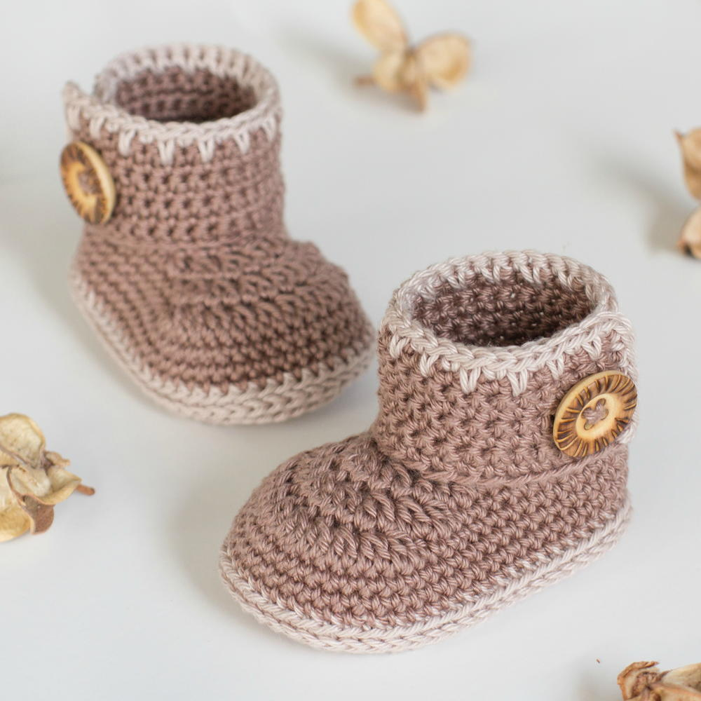 31 free crochet baby patterns free bonus ebook allfreecrochet cocoa baby ankle booties bankloansurffo Choice Image