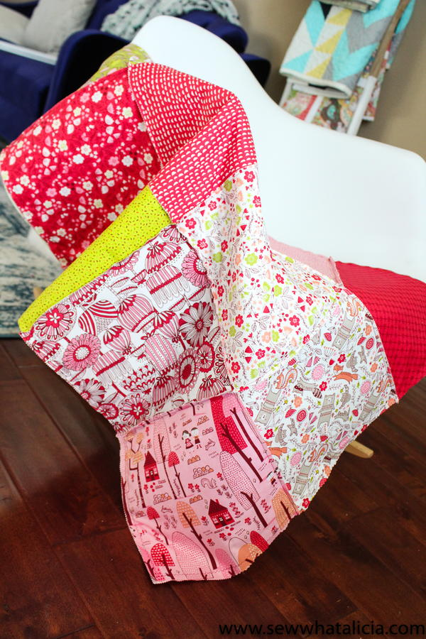 Cheater Rag Quilt Tutorial